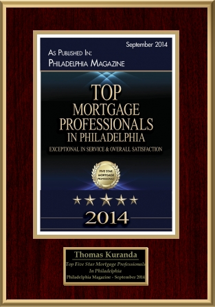 Philly Magazine - Top Mortgage Professionals 2014